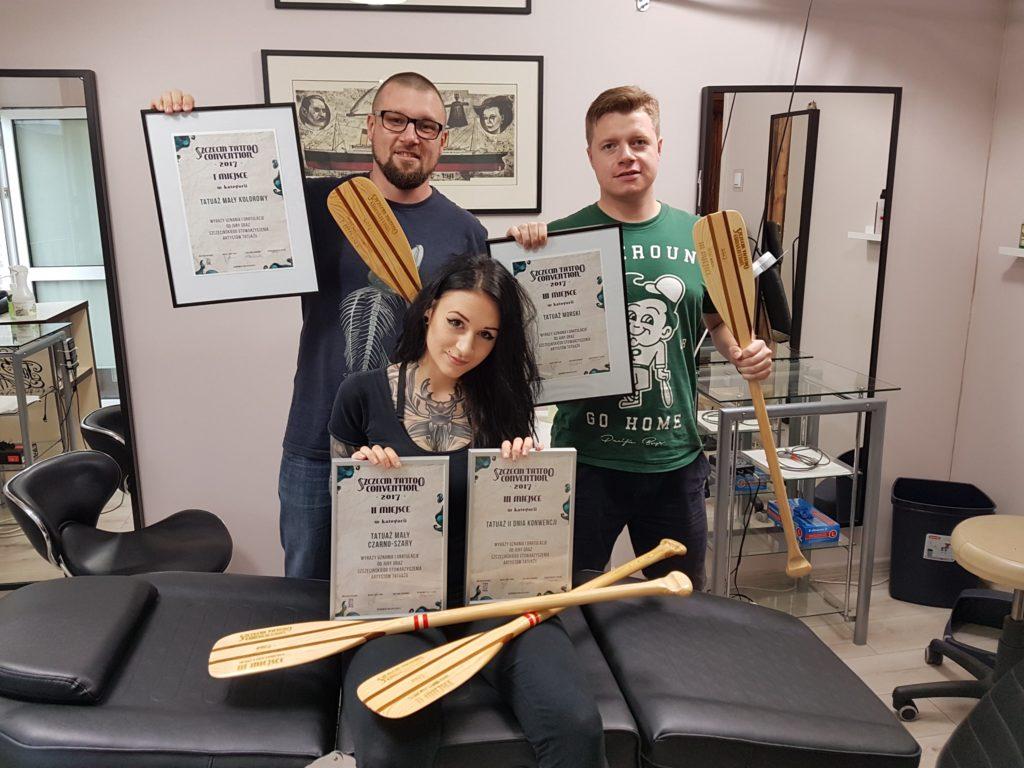 szczecin tattoo convention nagrody tatuaze best of konkurs