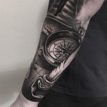 pioro kompas